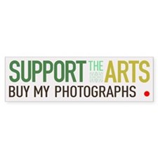 Support the Arts Photographer Bumper Bumper Sticker