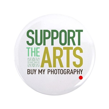 "Support the Arts Photographer 3.5"" Button"