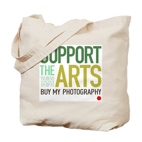 Support the Arts Photographer Tote Bag