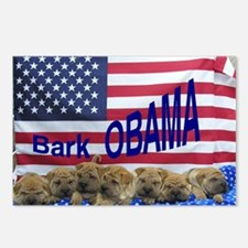 Obama Pei Postcards (Package of 8)