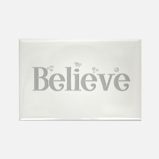 Pure Believe Rectangle Magnet