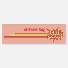 Curl Power Bumper Bumper Bumper Sticker