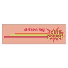 Curl Power Bumper Bumper Sticker