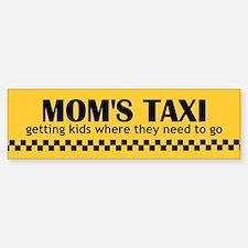Mom's Taxi Bumper Bumper Bumper Sticker