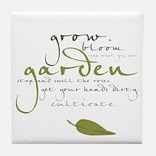 Garden Tile Coaster