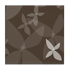 Flower Art (bark) Tile Coaster