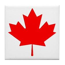 Canadian Maple Leaf Tile Coaster