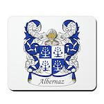 Albernaz Family Crest Mousepad
