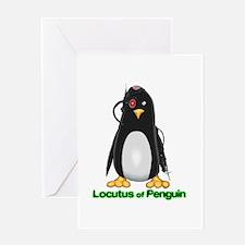 Locutus of Penguin Greeting Card