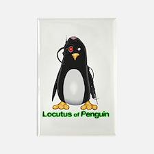 Locutus of Penguin Rectangle Magnet