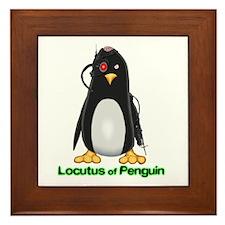 Locutus of Penguin Framed Tile