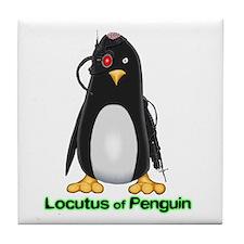 Locutus of Penguin Tile Coaster