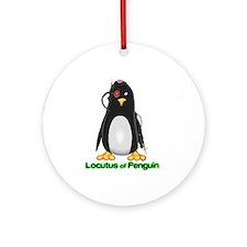 Locutus of Penguin Ornament (Round)