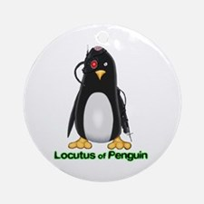 Locutus of Penguin Ornament (Round)