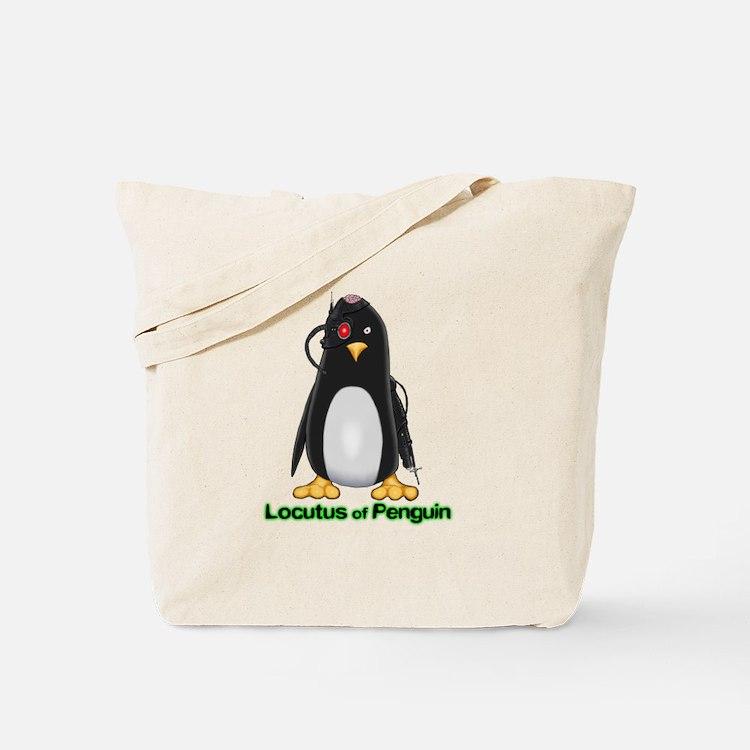Locutus of Penguin Tote Bag
