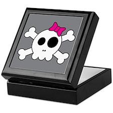 Cute Skully Keepsake Box