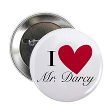 I Love Mr. Darcy Button (10 pack)