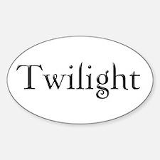 Twilight Oval Decal