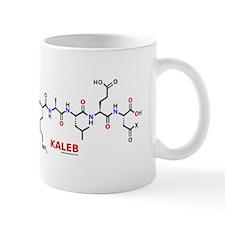 Kaleb name molecule Mug