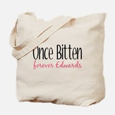 Once Bitten Forever Edward's Tote Bag