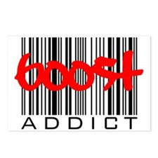 Boost Addict Postcards (Package of 8)