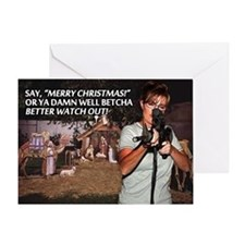 Sarah Palin War on Christmas Greeting Card