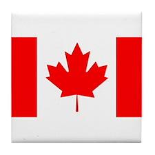 Candian Flag Tile Coaster