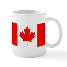 Candian Flag Small Mugs