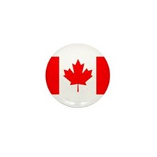 Candian Flag Mini Button (10 pack)