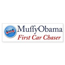 Muffy Obama Bumper Bumper Sticker