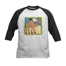 Wandering Camel with Green Border Tee