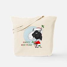 Happy Moo Year Tote Bag