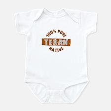 TEXAS SHIRT 100% TEXAN EVERYT Infant Bodysuit