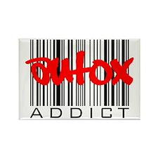 AutoX Addict Rectangle Magnet (10 pack)