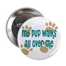 "Dog Walker 2.25"" Button"
