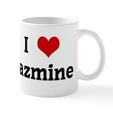 I Love jazmine Mug
