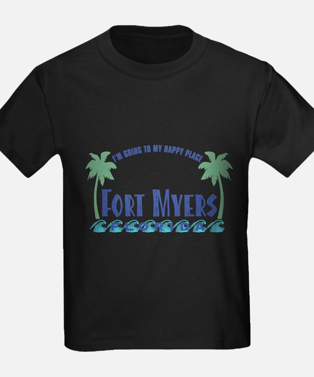 Ft. Myers Happy Place - T-Shirt