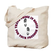My 2 Sons Wear Combat Boots Tote Bag