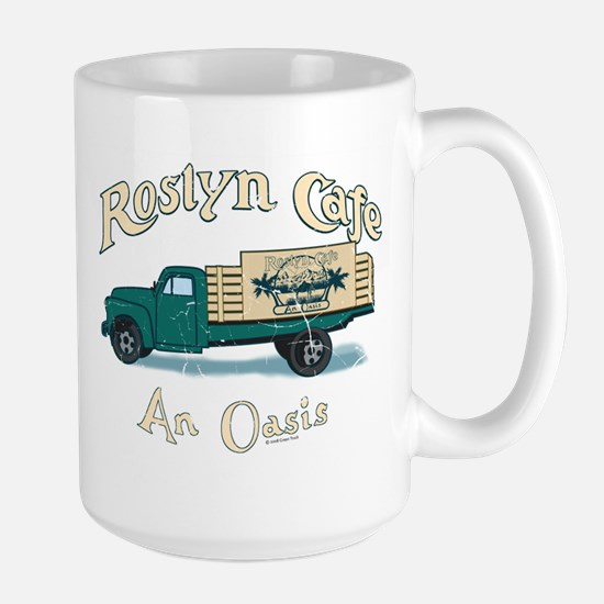 Roslyn Cafe Large Mug