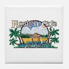Roslyn Cafe Tile Coaster