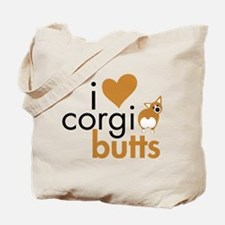 I Heart Corgi Butts - RWP Tote Bag