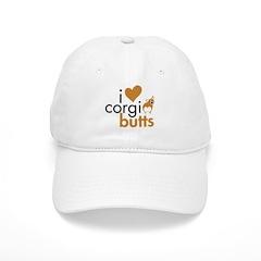 I Heart Corgi Butts - RWP Baseball Cap