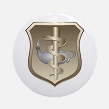 USAF Nurse Keepsake (Round)