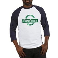 COLORADO SHIRT 100% NATIVE CO Baseball Jersey