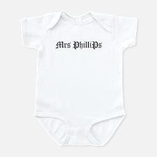 Mrs PhilliPs Infant Bodysuit