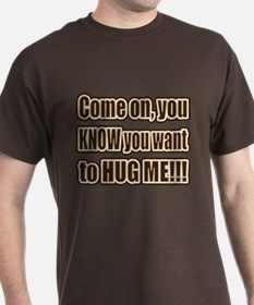 Brown 'Come On...' T-Shirt
