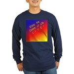 Long Sleeve Dark T-Shirt Live Life
