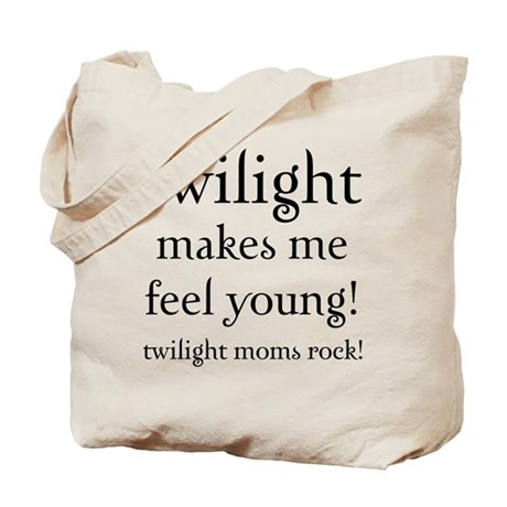 Twilight Moms Feel Young Tote Bag
