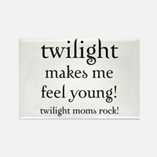 Twilight Moms Feel Young Rectangle Magnet