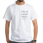 Twilight Moms Sneak Books White T-Shirt